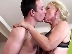 NastyPlace.org - Older grandma plays with youthfull guy