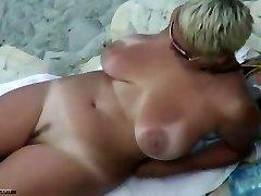 sexy mature naked beach