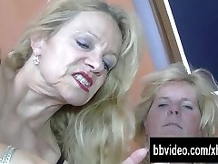 Bi german mature gals fucking in threesome