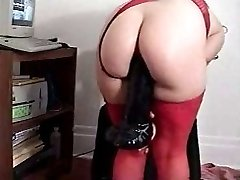 Mature BJ playing with fucktoys