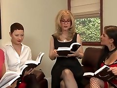 Great Lesbian Orgy By Naughty Matures