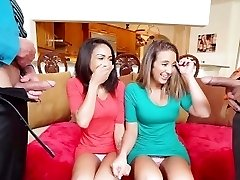 Daughter Swap- Daughters Learn Romp From Dad's Best Friend