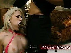 Aunt punishes foot fetish Rope bondage, cropping, extreme to