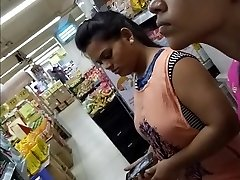 20 Year Old Phat TITS INDIAN GIRL Spied In The Mall