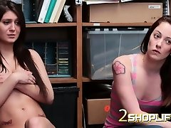 Tattooed chicks fucked from behind