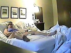 Hidden fuck-fest cam filmed a ultra-kinky minx jilling off
