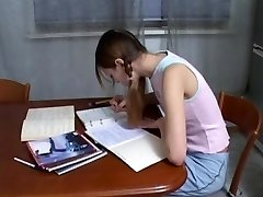 Humungous dick guy helps to study