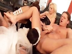 WEDDING BELLS Gang BANG 1 - Scene 1