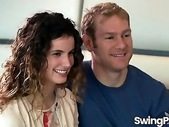 Swinger páry blázen v reality show