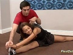 cute flexi contortion real chick