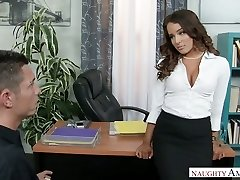 Sexy boss Mila Marx turns this man into her personal sex toy