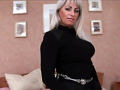 Mature pussy is banged in every slot