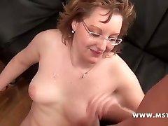 Chubby Girl takes numerous cocks