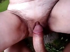 Monstrous old twat fucked by a big cock