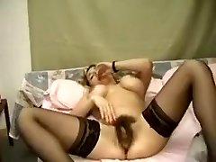Fabulous amateur Masturbation, Faux-cocks/Toys sex video
