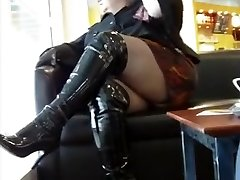BBW in thigh footwear PUBLIC