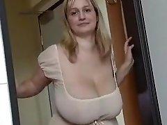 Fabulous homemade Big Tits, Blonde xxx video