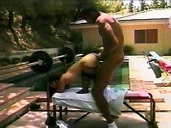 Steamy midget bangs a big rock hard cock
