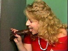 Blondy bbw and bbc gloryhole