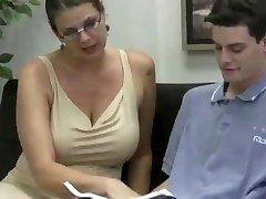 Teacher monstrous tits