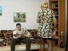 old maid & boy-friend