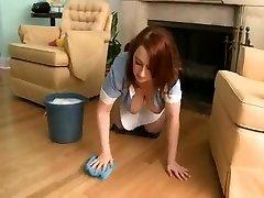 Phat Ass White Girl Maid Felicia