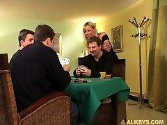 Elsa Kryss- Wife fucked by two Husband Friend