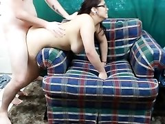 Quickie w/Daisy Dabs 6: Smoking teen plays with toy and rails prick creampie