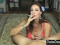 Smoking Hot MILF Charlee Chase Drains a Hard Weenie!