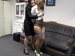 Girl manager with secretary