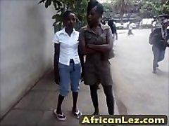 Dirty black sluts having g/g fun in bathroom