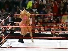 Trish Stratus vs Terri swimsuit match