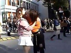 Japanese Very Public Lesbians