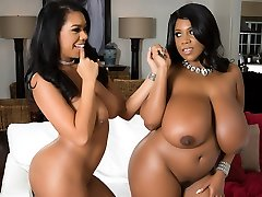 Katt Garcia & Maserati in Huge On Lean - Brazzers