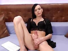 Sexy slender Russian tgirl