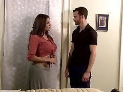 Curvy transgirl Jessy Dubai fucks anal hole of handsome sex counterpart