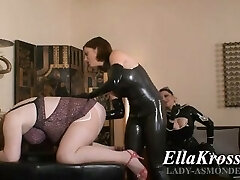 Sissy Slut Poppers & Fisting by 2 Mistresses