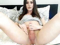 Beautiful Russian Goddess stroking