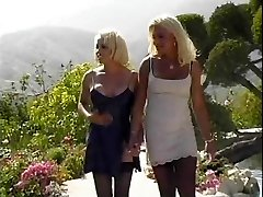 blonde tgirls eating each other