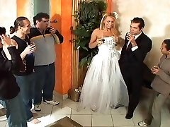 Tranny bride bang-out after wedding