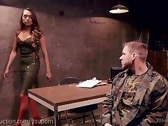 Lady Bone Punishes Army Cadet