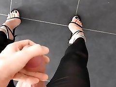 feet and fuckpole
