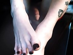 T-girl Korra Del Rio and her Sexy Shemale Soles
