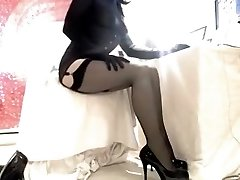 Exotic Homemade Shemale movie with Solo, Tights episodes