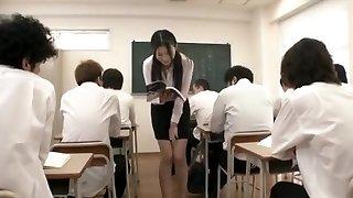 Kitagawa, Mio peeing nymph teacher