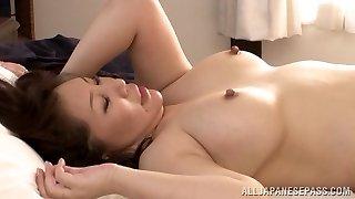 Hot mature Japanese honey Wako Anto likes position 69