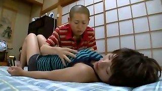 Impressive Japanese whore Azumi Harusaki in Incredible Changing Room, Massage JAV movie