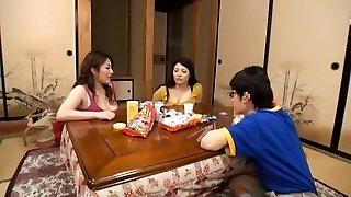 Wondrous  Japanese girl Hitomi Yuki, Reina Nakama, Sumire Shiratori in Finest Ass JAV movie