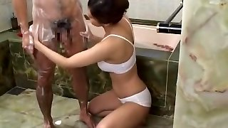 Incredible Japanese slut Sasa Handa, Ayami Sakurai, Kaho Kasumi in Wild Bathroom, Big Udders JAV flick