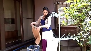 Impressive Chinese model Risa Murakami in Exotic oldie, showers JAV video